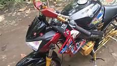 Vixion R Jari Jari by Yamaha Vixion Modifikasi Jari Jari Dan Headl Z250