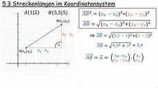 5 3 streckenl 228 ngen im koordinatensystem
