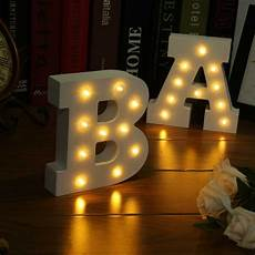 lighted wall letters knockoffdecor com icoco 26 letters white led light led letters