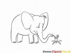 zoo malvorlage elefant