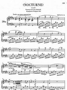 chopin nocturne no 20 c sharp minor version 1