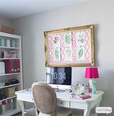 pink green girly organized ultimate home office craft