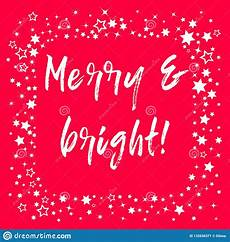 merry christmas lettering greeting card typographical vector background handmade script