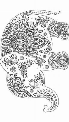 Malvorlagen Elefant Xxi Elephant Adultcoloring Coloring Adultcoloring