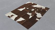 Kuhfell Teppich Patchwork - modern skin carpet 5 kuhfell teppich cow hide