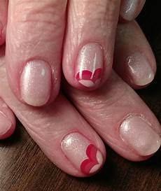 valentine s day nail design gel nails with sted nail