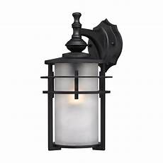 large contemporary matte black outdoor wall sconce frosted glass shade