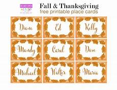 thanksgiving turkey place card templates 15 thanksgiving decorating ideas in my own style