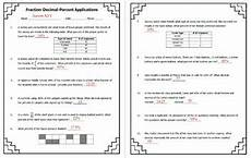 word problems with fractions and decimals worksheets 7589 fractions decimals percents word problems digital worksheet answer key