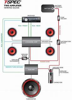 wiring guide t spec competition car audio