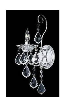 nulco lighting 471 01 03 chrome crystal fire ice wall sconce l light fixture ebay