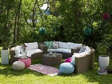 Runde Rattan Gartenm 246 Bel Lounge Rattanlounge Garten Tisch