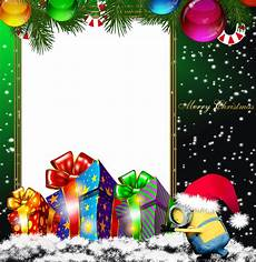 merry christmas green png minion photo frame gallery yopriceville high quality images and