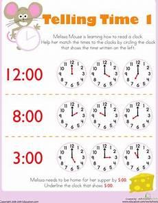 telling time worksheet for kindergarten 3585 free printable time worksheets for hubpages