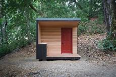 an innovative house carved out of a build your own modern outhouse dwell
