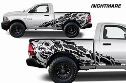 Dodge Ram 1500/2500 2009 2018 65 BED Custom Vinyl Decal
