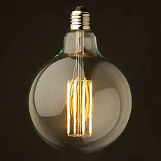 led globe golden filament vintage globe led es screw fit 4w 2200k