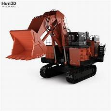 hitachi ex3600 6 2018 3d vehicles hum3d