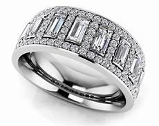 diamond anniversary wedding rings