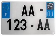Plaque D Immatriculation Pour Moto Mtl Mtt1 Mtt2 Sur