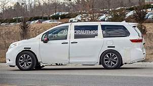 2021 Toyota Sienna Redesign Review Price And Specs