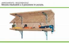 mensola ribaltabile reggi mensole ribaltabili regolabili ferramenta mobili