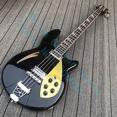 Custom Shop 4 Strings Black 4005 Bass Guitar In Black