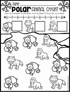 arctic animals worksheets for preschool 14127 polar animal math and literacy worksheets for preschool january polar animals artic animals