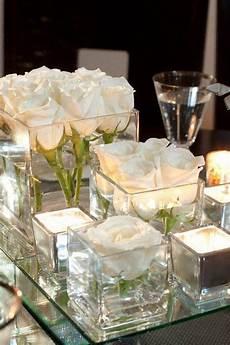 vase centre de table miroir carr 233 un mariage