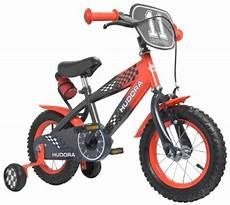 hudora fahrrad 12 zoll grau rot mit st 252 tzr 228 dern