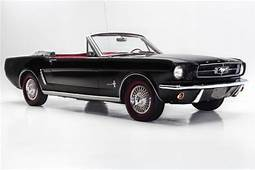 1965 Ford Mustang Black Convertible 289 Auto Automatic