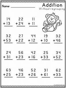 addition worksheets no regrouping 8971 2 digit addition without regrouping worksheets by learning desk tpt