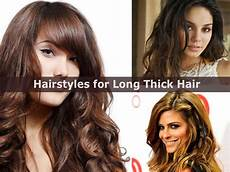 cute and easy hairstyles for long thick hair hairstyle for women