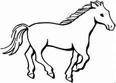 Malvorlage Pferd Gallopierendes Pferd Ausmalbild Malvorlage Tiere
