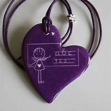 cadeau original pour maitresse d école pendentif pour la ma 238 tresse d 233 cole cœur 171 original