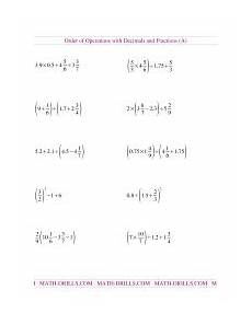 decimal bodmas worksheets 7063 order of operations worksheets