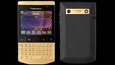 blackberry porsche design porsche design blackberry p9981 given 24 carat golden makeover