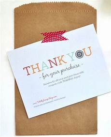 thank you packaging card template thank you for your purchase notecard printable and instant