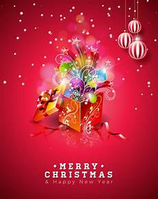merry christmas illustration shiny background download free vectors clipart graphics
