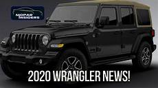 2020 the jeep wrangler here s whats new for the 2020 jeep wrangler