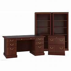 bush home office furniture bush furniture saratoga executive desk office suite in