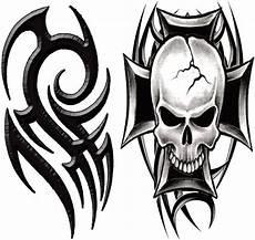 tribal temporarytattoo tribal skull t4aw