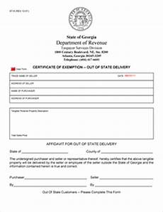 state sales tax state sales tax exemption form