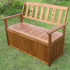 petit banc exterieur le banc coffre de jardin belles id 233 es pour votre jardin