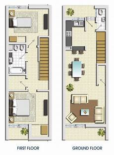 Plan View Of Small Living Space Instead Of 2 Levels