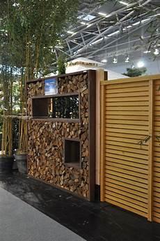 Sichtschutz Aus Cortenstahl Holzlege 2x1m Www Garten