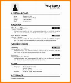 5 cv template for fresh graduate theorynpractice