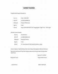 contoh surat kuasa leasing contoh cuil