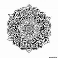 Mandala à Imprimer Pour Adulte Coloriage Mandala Complexe Difficile Pour Adulte
