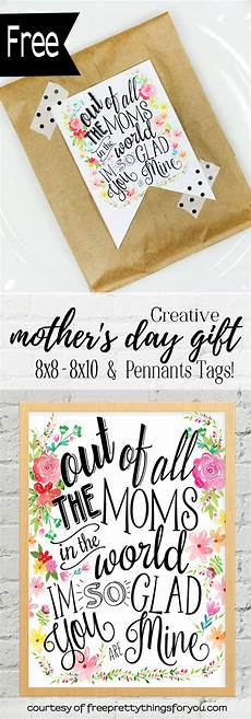 s day printable gifts 20552 creative s day gifts tags and wall included free pretty things for you